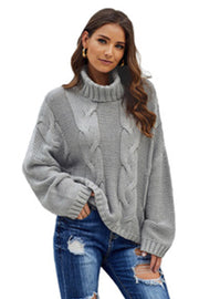 Twisted Knit Long Sleeve Sweater