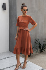 Elegant Lady Lace Dress