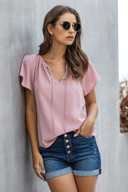 Unique Style V-Neck T-Shirt