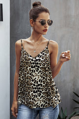Leopard V-Neck Camisole