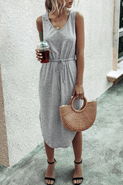 Simple Summer Vest Dress