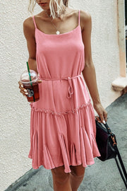 Pretty Lady Ruffled Dress