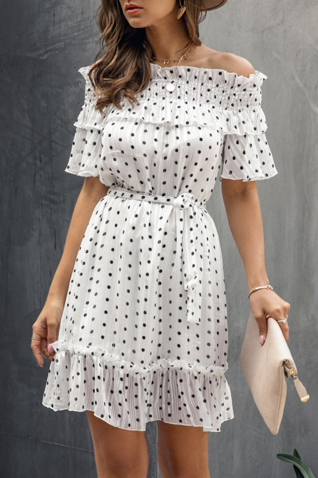 Happy Everyday Dot Dress