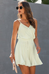 Pure And Noble V Neck Jumpsuit