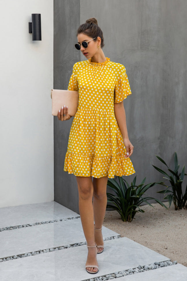 Elegant Queen Dot Dress
