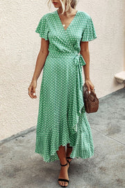French Romance Dot Dress