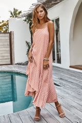 Ruffled Dot Dress