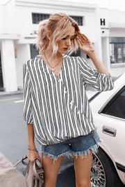 Striped Buttons Shirt