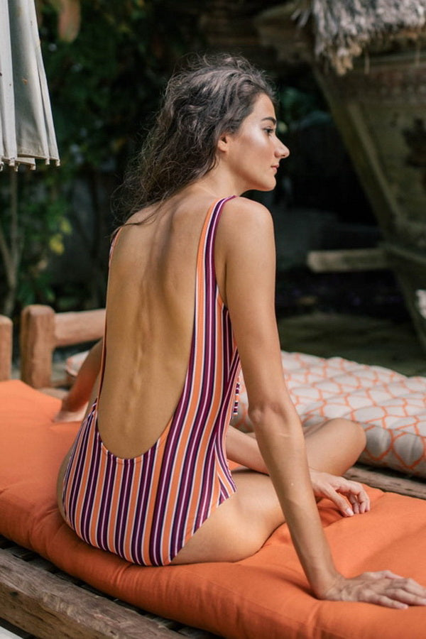 Ties Backless One Piece