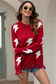 Flash Tassels Sweater