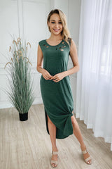 Irregular Hip Pocket Dress