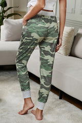 Camouflage Ties Pants