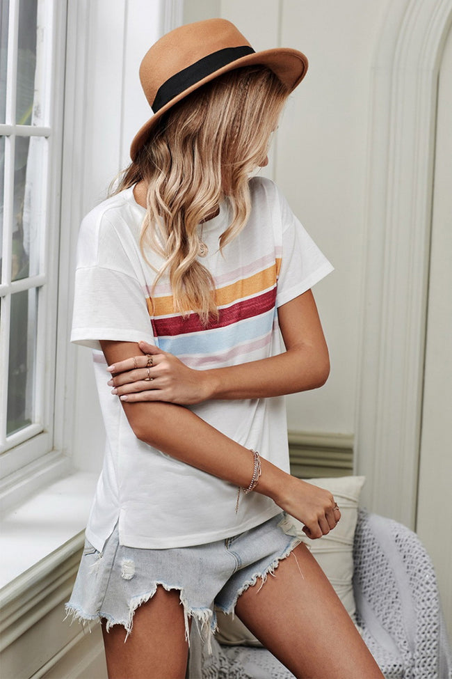 Loose Round Neck T-Shirt