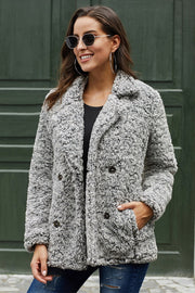 Lapel Plush Jacket