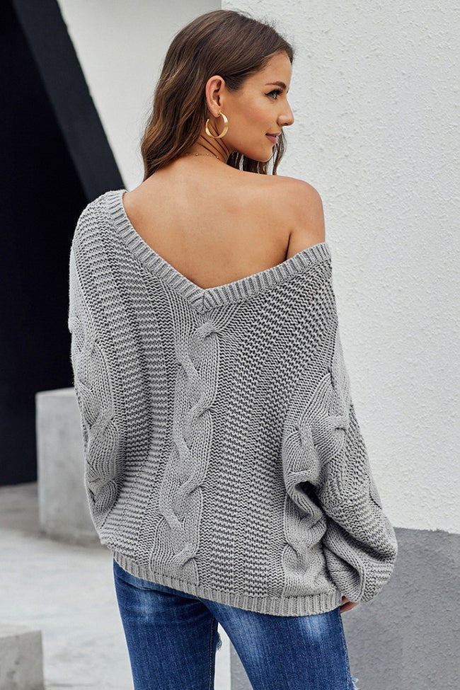 Thick Knitted Sweater
