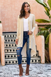 Plain Medium Cardigan