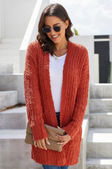 Plain Pocket Medium Cardigan