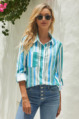 Unique Striped Shirt