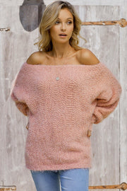 Loose Off Shoulder Sweater