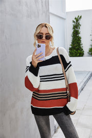Loose Pullover Knitted Thick Sweater