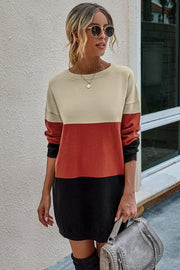 Fashion slim long sweater