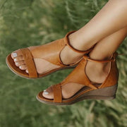 Rural Life Mid Heels Wedges