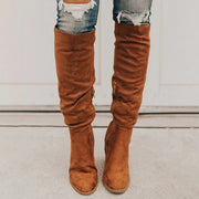 Chic Knee-High High Heels Boots