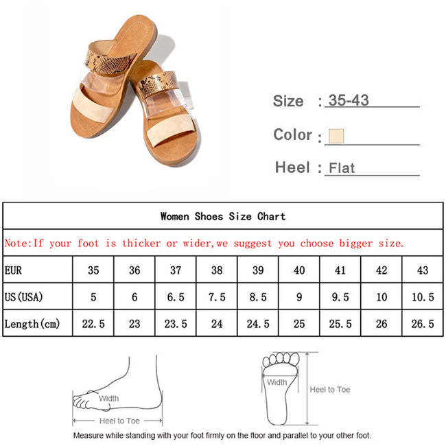 Sewing Light Flat Slip On Slipper