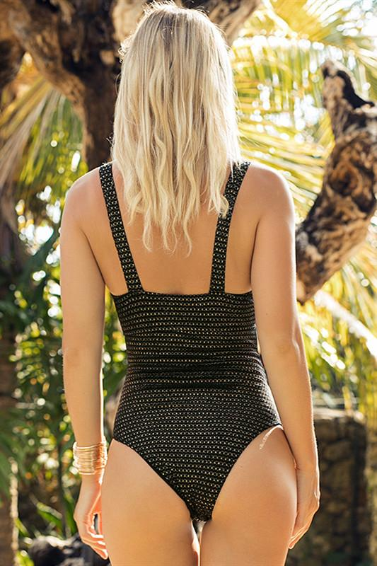 Galaxy One Piece Swimsuit - Pavacat