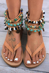 Greek Style Summer Sandals - Pavacat