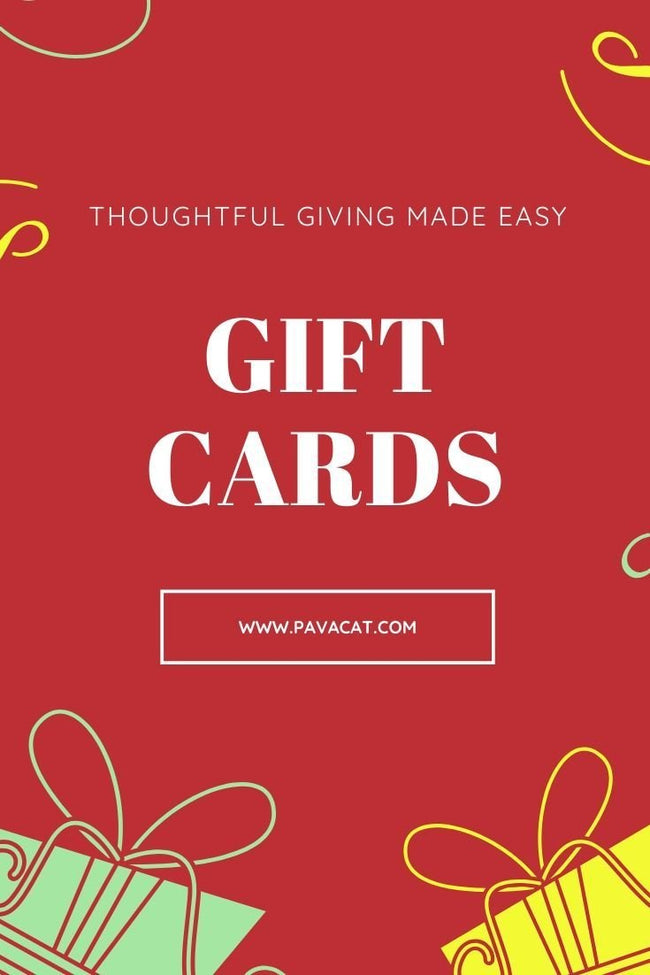PAVACAT Gift Card - Pavacat