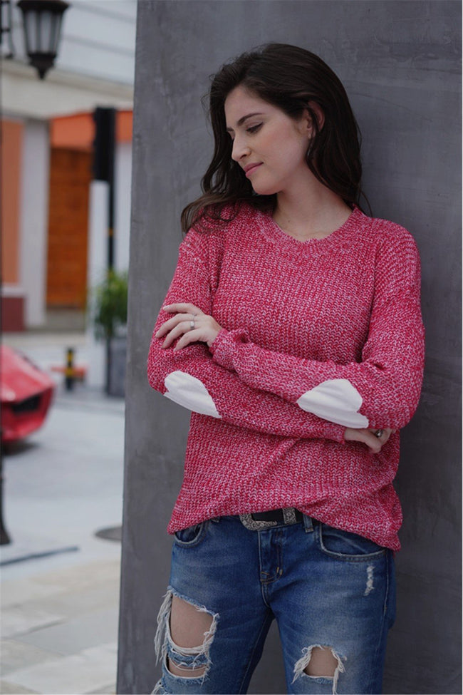 Shape of The Heart Knit Pullover - Pavacat