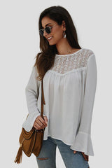 Streetwear Long-sleeved Slim Blouse - Pavacat