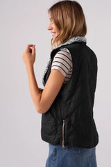 Zipper Waistcoat Can Be Worn On Both Sides - Pavacat