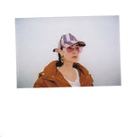 Load image into Gallery viewer, hat, tie hat, striped soft tie cap, rosie la jaguara