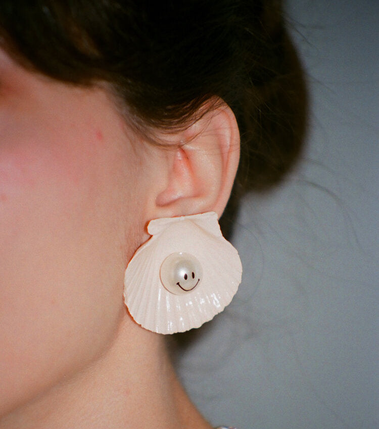 kunst, shop kunst, shell earring, sustainable, recycled, upcylcing, kathleen, shop kathleen, los angeles, boutique