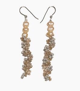 Homejob, Homejob the Label, Shop Kathleen, Kathleen, Los Angeles, Handmade, Pearls, Pearl Earrings, Sustainable, Beaded Earrings
