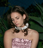 Load image into Gallery viewer, handmade leather ruff collars, katy mcroberts, choker, collar