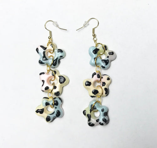 Joey Shares, Resin Earrings, Handmade, Los Angeles, Kathleen, Shop Kathleen