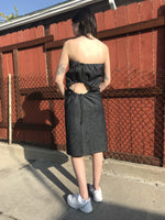 Load image into Gallery viewer, Bite Dress, Ka He, Los Angeles, Lace-Up, Kathleen Los Angeles