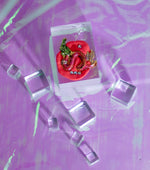 Load image into Gallery viewer, Tati Jewellery, Kathleen, Los Angeles, Dragon, Pink, polymer clay, pink dragon, handmade, earring