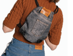 Load image into Gallery viewer, Hardeman, Denim Backpack, Kathleen, Shop Kathleen