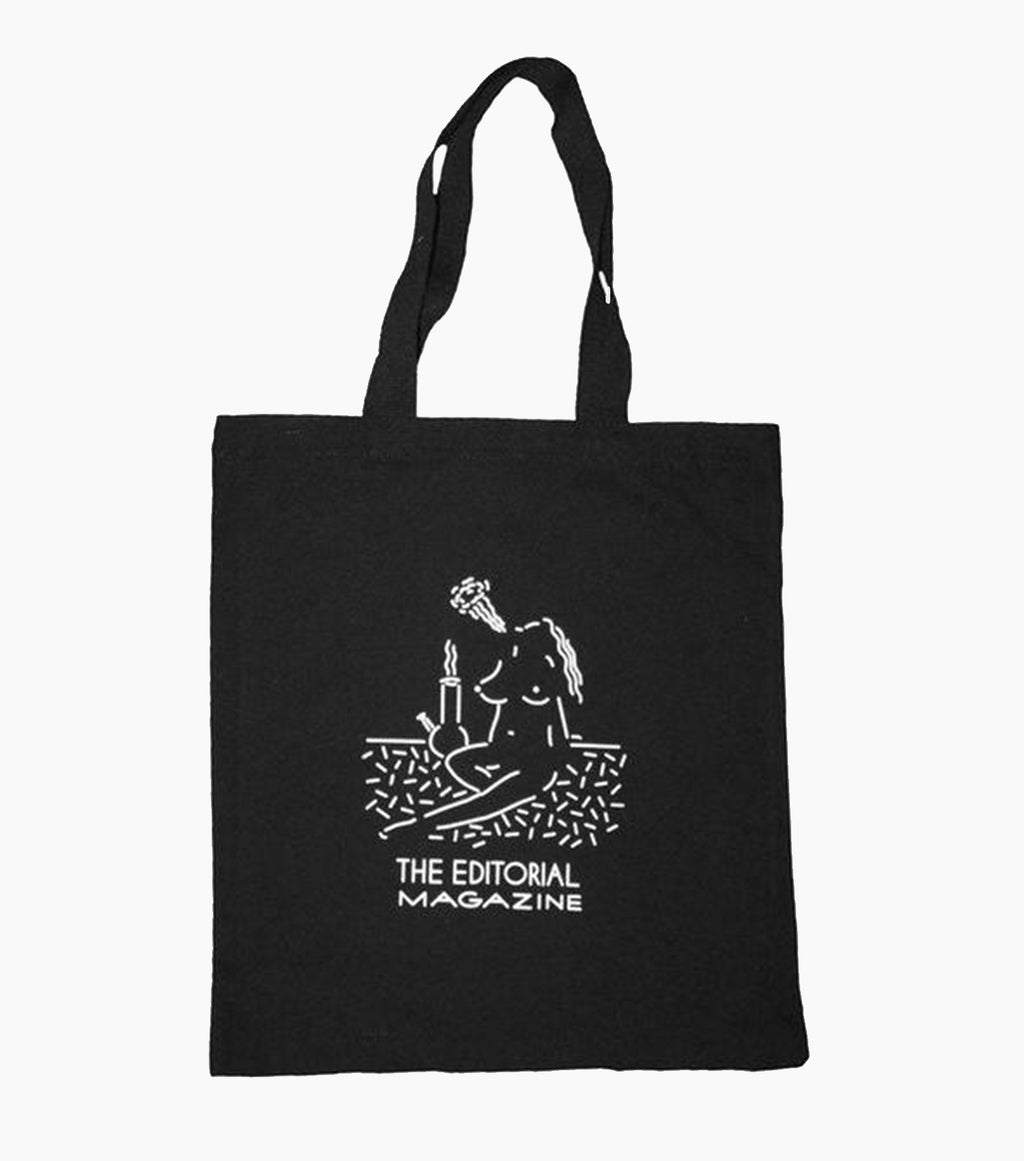 clay hickson, editorial magazine tote bag