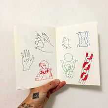Load image into Gallery viewer, Small Spells Tattoo Flash Book