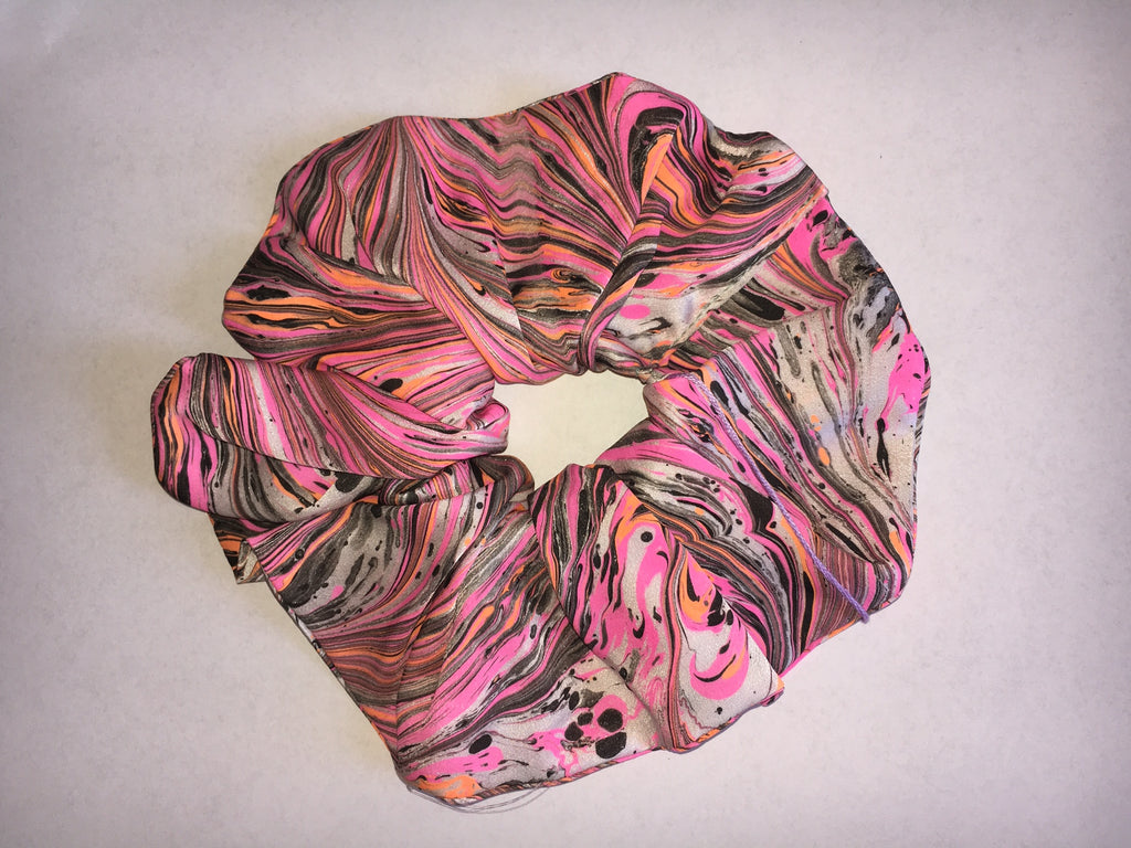 MYFAWNWY scrunchie, silk, hair accessories