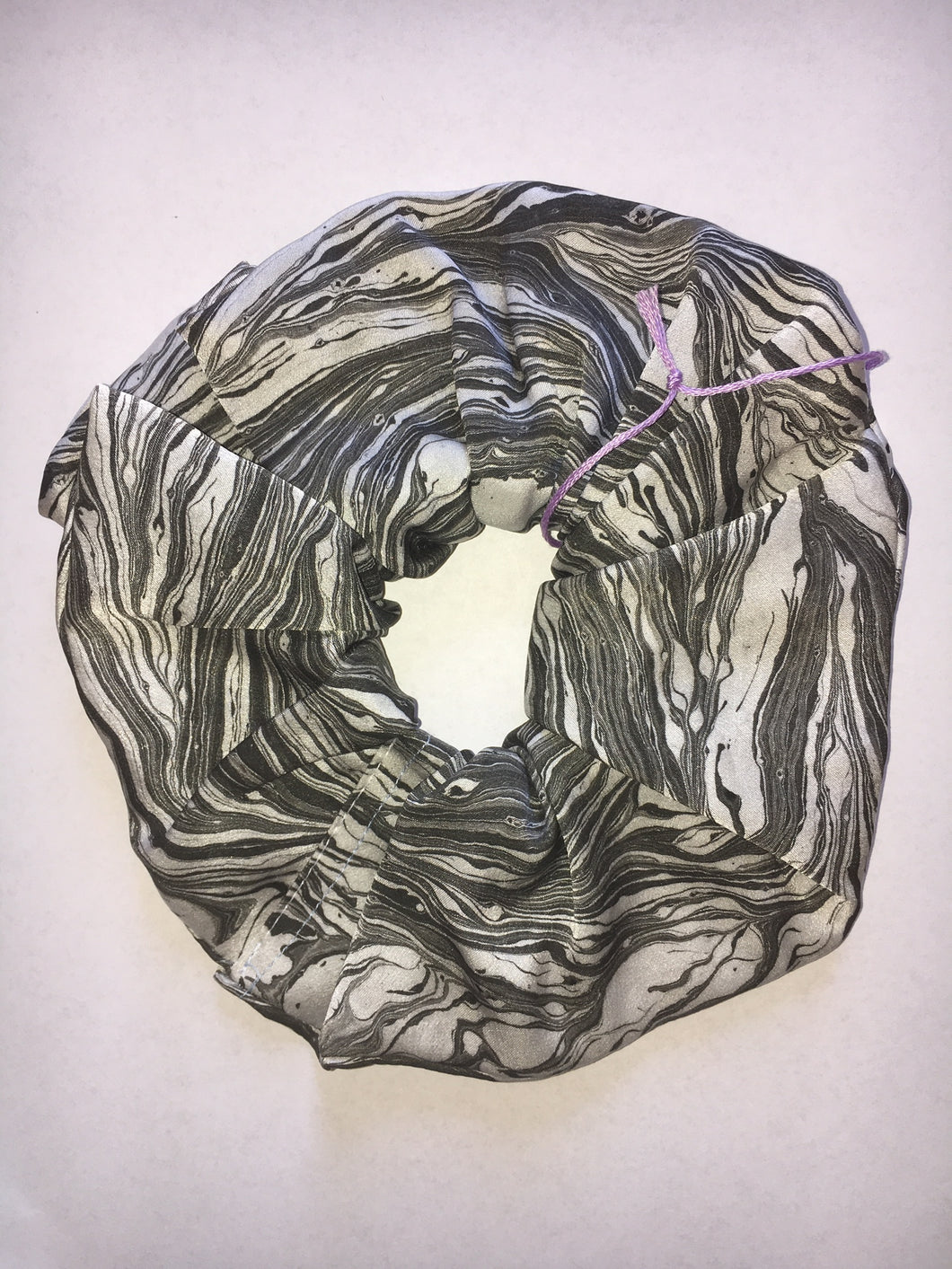 MYFAWNWY Marbled Silk Scrunchie