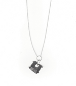 Load image into Gallery viewer, 925, sterling silver, silver charm, necklace, bracelet, earring, 925 charm, bread tab charm, mama jewelry, handmade, kathleen, shop kathleen, kathleen los angeles, los angeles boutique, independent artist, independent designer, independent fashion