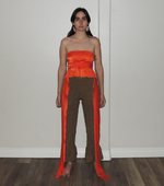Load image into Gallery viewer, Club Top, Kathleen, Shop Kathleen, Los Angeles, Boutique, Los Angeles Boutique, Small Artist, Independent Artist, Small Batch, Wrap Top, Crop Top