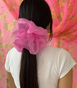 Room Shop Vintage, Scrunchie, Giant Scrunchie, Cloud Scrunchie, Organza, Kathleen, Shop Kathleen, Boutique, Los Angeles, Deadstock