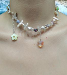 Janky Jewels, Kathleen, Los Angeles, Boutique, New York, Pearl Choker, Kathleen Los Angeles